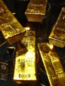 Investering i guldbarrer