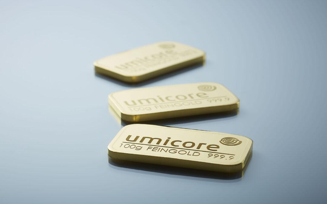 Lancering af Umicore-produkter