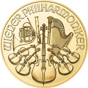Philharmonic 1oz guldmønt (2021)