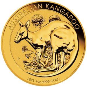 Australian Kangaroo 1 oz guldmønt (2021)