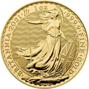 Britannia 1oz guldmønt (2021)
