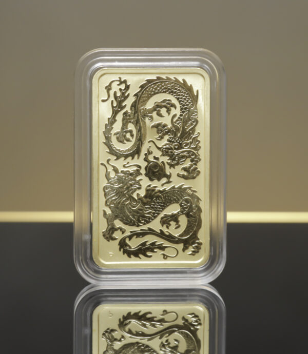 Dragon guldbarre 1oz (2020)