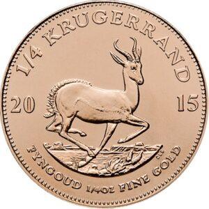 Krygerrand 1/4 oz guldmønt