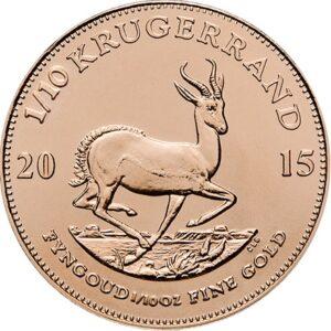Krugerrand 1/10 oz guldmønt