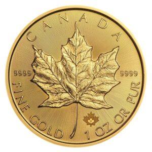 Maple Leaf 1oz guldmønt (2021)