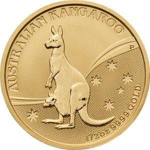 Australian Kangaroo 1/2 Oz Guldmønt