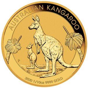 Australian Kangaroo 1/10 oz 2020