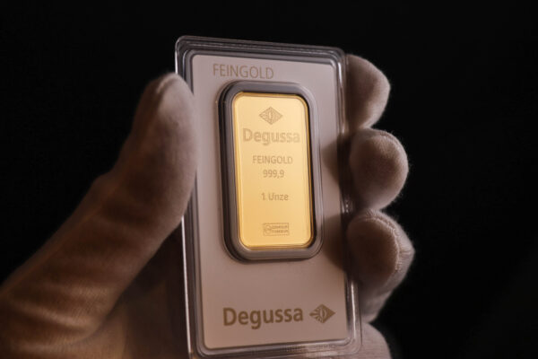 Degussa guldbarre 1oz (Pre-owned)