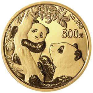 Kinesisk guldmønt 30g- 2021