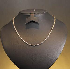 Konge halskæde 14 karat guld (1.8mm)