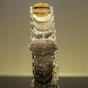 Mønt armlænke i 21 karat guld