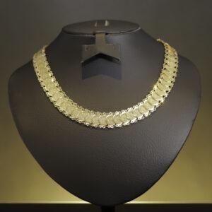 Mønt halskæde i 21 karat guld