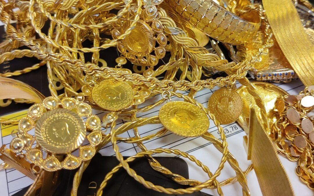 Tyrkiske guldsmykker