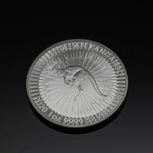 Australian Kangarroo 1 oz sølvmønt (2020)