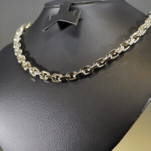 Kraftig anker halskæde i 14 karat guld