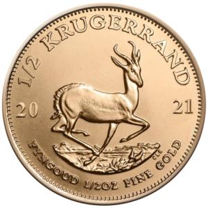 Krugerrand 1/2 oz guldmønt (2021)