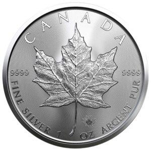 Maple Leaf 1oz sølvmønt (2021)