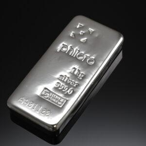 Philoro sølvbarre 1000g