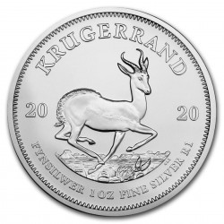 Krugerrand 1 oz sølvmønt