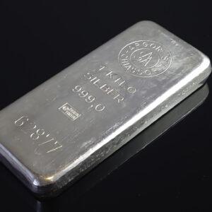 Argor Chiasso 1000g sølvbar