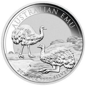 Australian Emu 1oz sølvmønt (2020)