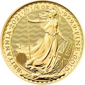 Britannia 1/4oz guldmønt (2021)