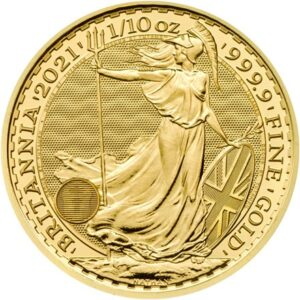 Britannia 1/10oz guldmønt (2021)
