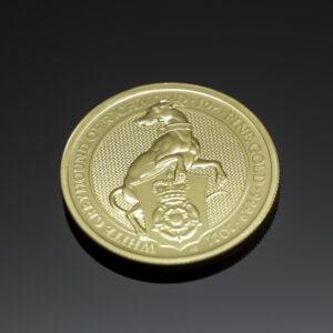 White Greyhound of Richmond 1oz guldmønt (2021)