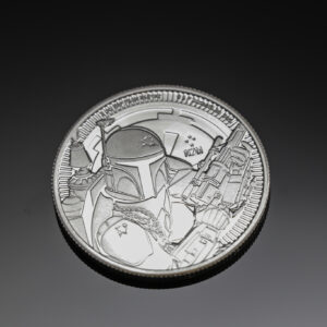 Star Wars Boba Fett 1oz sølvmønt (2020)