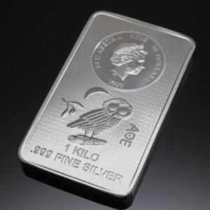 AOE sølvbarre 1000g