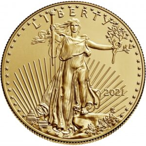 American Eagle 1oz guldmønt (2021)