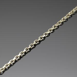 Anker halskæde i 8 karat guld