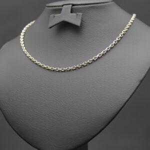 Anker halskæde i 14 karat guld
