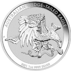 Australian Wedge-Tailed Eagle 1oz sølvmønt (2021)