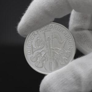Pre-owned - Philharmonic 1oz sølvmønt