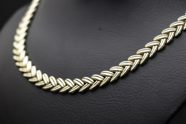 Halskæde i 14 karat guld