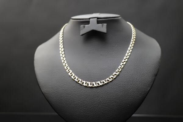 Bismarck halskæde i 14 karat guld