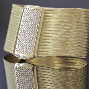 Trabzon armbånd med sten i 22 karat guld