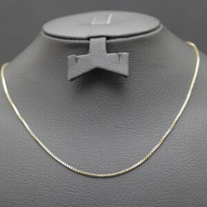 Tynd halskæde i 14 karat guld