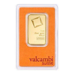 Valcambi guldbarre 1OZ