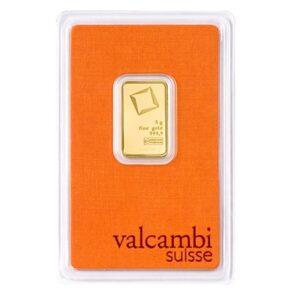 Valcambi Guldbarre 5g