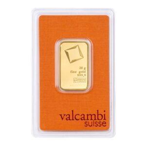 Valcambi guldbarre 20g